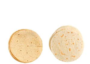 tortillas de harina y maíz